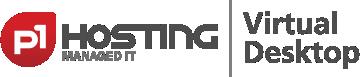 p1Hosting managed IT   Virtual Desktop – Der digitale Arbeitsplatz   Made in Stuttgart   Desktop-as-a-Service Logo